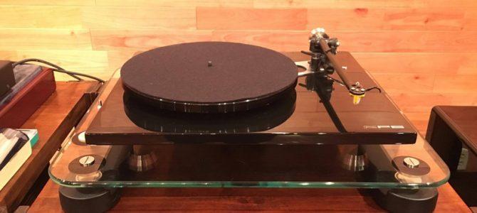いま話題のハイセンスなレコードプレーヤー Rega RP6を展示しました。