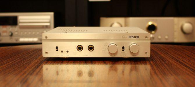 【良質なDAC・ヘッドホンアンプをお探しの方必見!】FOSTEX HP-A7の中古品を入荷致しました。