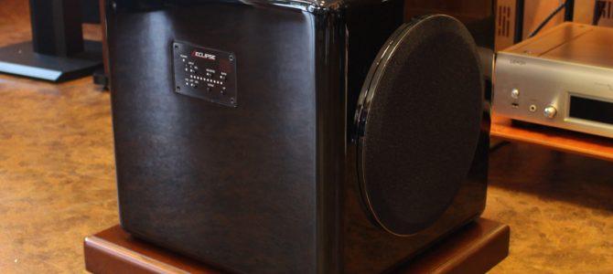ECLIPSEのサブウーハー TD520SWの中古品を入荷致しました。