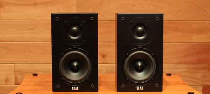 ELACの売れ筋ブックシェルフスピーカー BS72を展示処分特価にてご提供します。
