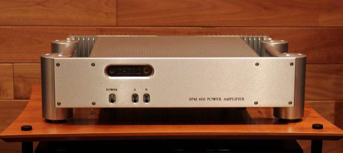 CHORDのパワーアンプ SPM600を入荷しました。