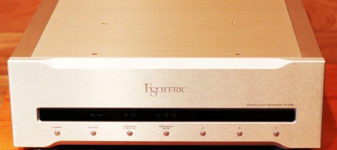ESOTERICのルビジウム マスタークロック・ジェネレーター G-0Rbの中古品がさらにお買い得になりました。