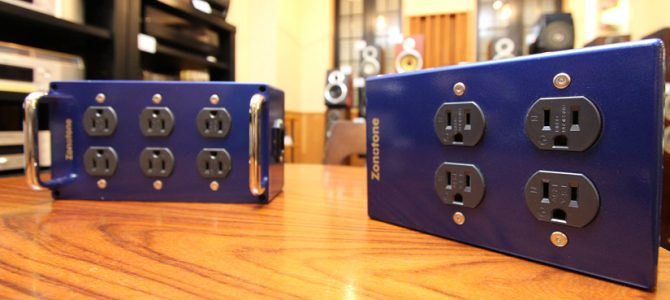 ZONOTONEの高級電源タップ2機種を試聴しました。