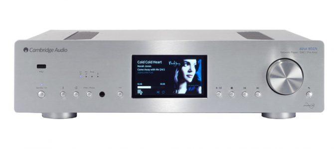 大変使い勝手の良いネットワークオーディオプレーヤー Azur 851Nのご紹介です。