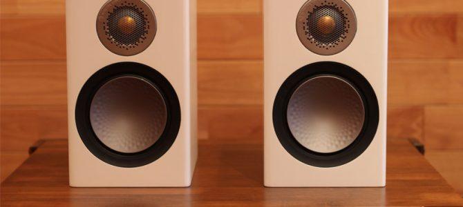 MonitorAudioの部屋を選ばないブックシェルフスピーカー、Silver50を展示しました。