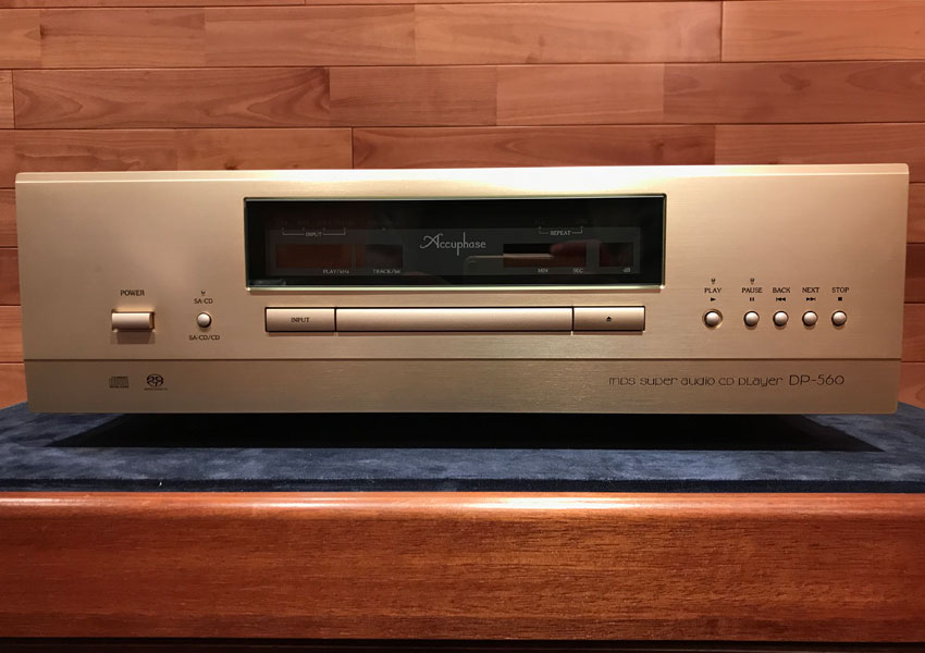 ACCUPHASE/CDプレーヤー/DP-560