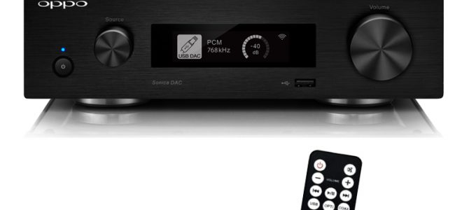 1月26日発売予定 SONICA DAC専用リモコン Remote Control for Sonica DAC