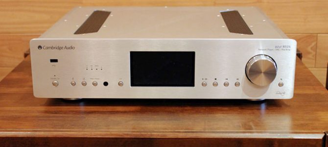 【NEW YEAR SALE!】Cambridge Audioのネットワークプレーヤーの中古品がAzur 851N御求め安い価格になりました。