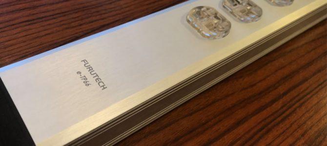 FURUTECHの電源ボックス、e-TP66のご紹介です。