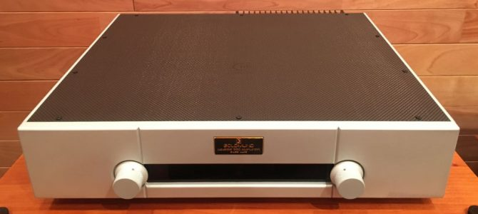 GOLDMUNDのプリメインアンプ「330ME」の中古品が入荷致しました。