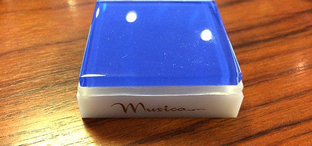 CD・レコードプレーヤー用のインシュレーター、MUSICA hb72