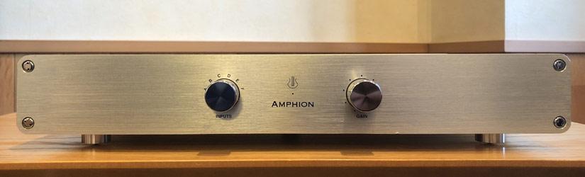 LYRA/プリアンプ/AMPHION LINE