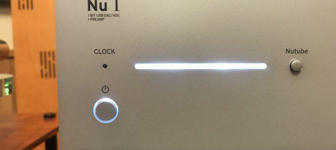 【日本製真空管搭載プリアンプ】KORGのNu 1を聴いてみました