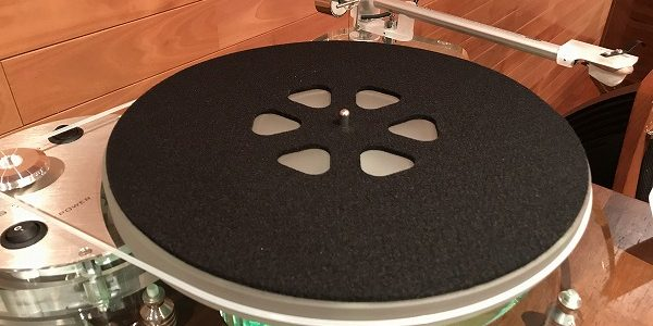 【ターンテーブルマット】ROKSANのUPGRADE MAT、RMAT-7を使ってみました。