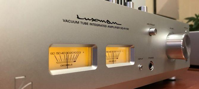 【真空管プリメインアンプ】LUXMANのSQ-N150をご紹介致します。