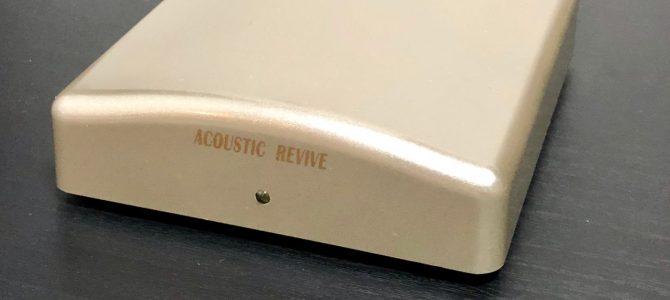 【これは全く新しいルームチューニングだ!!】ACOUSTIC REVIVE 超低周波発生装置 「RR-777」 【アコリバ特集第三弾!!!】