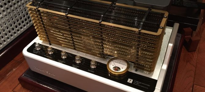 【TA-300B】TAKATSUKIの真空管パワーアンプ TA-S01 展示中です。