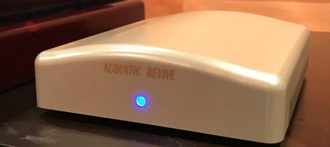 【バージョンアップの勧め】ACOUSTIC REVIVE 超低周波発生装置 「RR-777」。