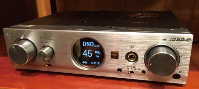 【高機能DAC】ifi audio Pro iDSDを聴きました!