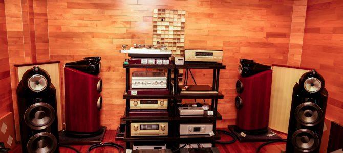 B&W 800D3,AUDIO QUEST新製品試聴会セッティング完了!