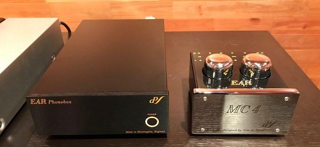 EAR「Phonobox」「MC4」を展示導入致しました。