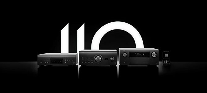デノン創立110周年記念モデル「A110シリーズ」のご紹介