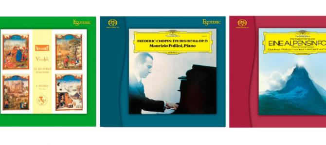 【限定発売!】ESOTERICのSACD新作3タイトルのご紹介です。
