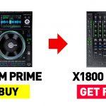 【令和元年最後のビッグボム】DENON DJ最高峰DJプレーヤー、2台買ったら最高峰DJミキサーがタダ!