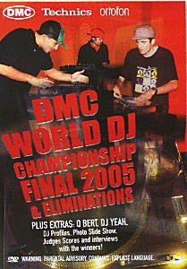 商品詳細 : DMC(DVD) DMC WORLD DJ CHAMPIONSHIP FINAL 2005 & ELIMINATIONS
