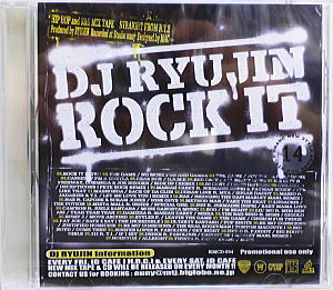 商品詳細 : DJ RYUJIN(CD) ROCK IT