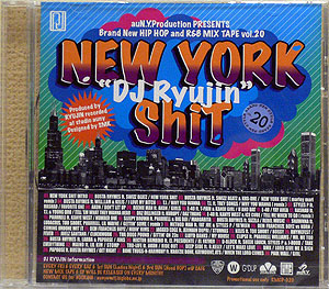 商品詳細 : DJ RYUJIN(MIX CD) NEW YORK SHIT