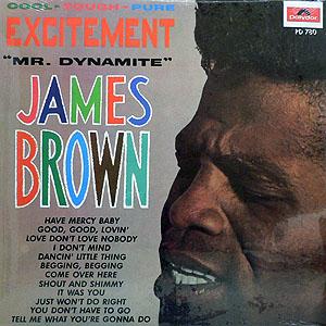 商品詳細 : JAMES BROWN(LP) EXCITEMENT (MR. DYNAMITE)
