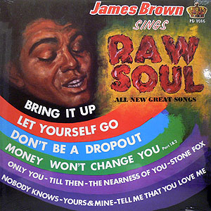 商品詳細 : JAMES BROWN(LP) RAW SOUL