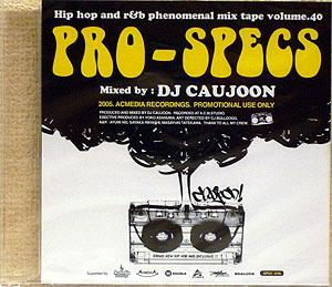 商品詳細 : DJ CAUJOON(MIX CD) PRO-SPECS