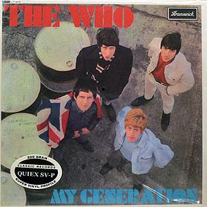 商品詳細 : THE WHO (ザ・フー) (LP 180g重量盤) タイトル名:MY GENERATION