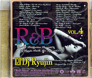 商品詳細 : DJ RYUJIN(MIX CD) R&B VOL.4