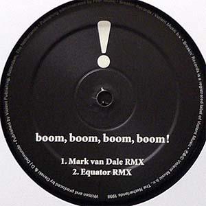 商品詳細 : 【USED・中古】 Vengaboys(12×2)Boom, Boom, Boom, Boom!! (Remixes)