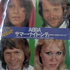 商品詳細 : 【USED・中古】ABBA(EP) サマー・ナイト・シティー