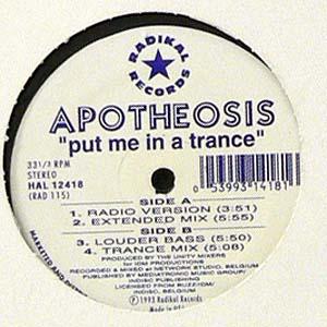 商品詳細 : 【USED・中古】APOTHEOSIS (12) PUT ME IN A TRANCE