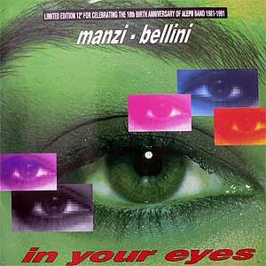 商品詳細 : 【USED・中古】MANZI-BELLINI (12) IN YOUR EYES