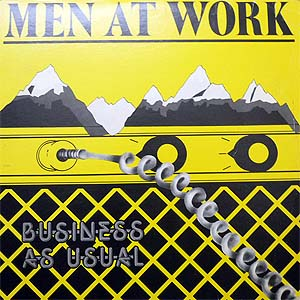 商品詳細 : 【USED】MEN AT WORK (LP) BUSINESS AS USUAL