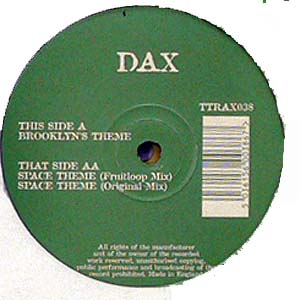 商品詳細 : 【USED・中古】DAX (12) BROOKLYN'S THEME