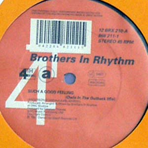 商品詳細 : 【USED RECORD 50%OFF SALE!】【USED】BROTHERS IN RHYTHM(12) SUCH A GOOD FEELING