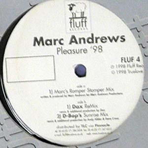 商品詳細 : 【USED・中古】MARC ANDREWS(12)PLEASURE '98