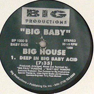 商品詳細 : 【USED・中古】BIG BABY(12)BIG HOUSE