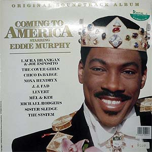 商品詳細 : 【USED・中古】O.S.T(LP)COMING TO AMERICA
