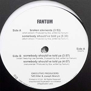 商品詳細 : FANTUM(12) BROKEN ELEMENTS