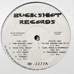 商品詳細 : V.A.(12) BUCKSHOT RECORDS BF-2277