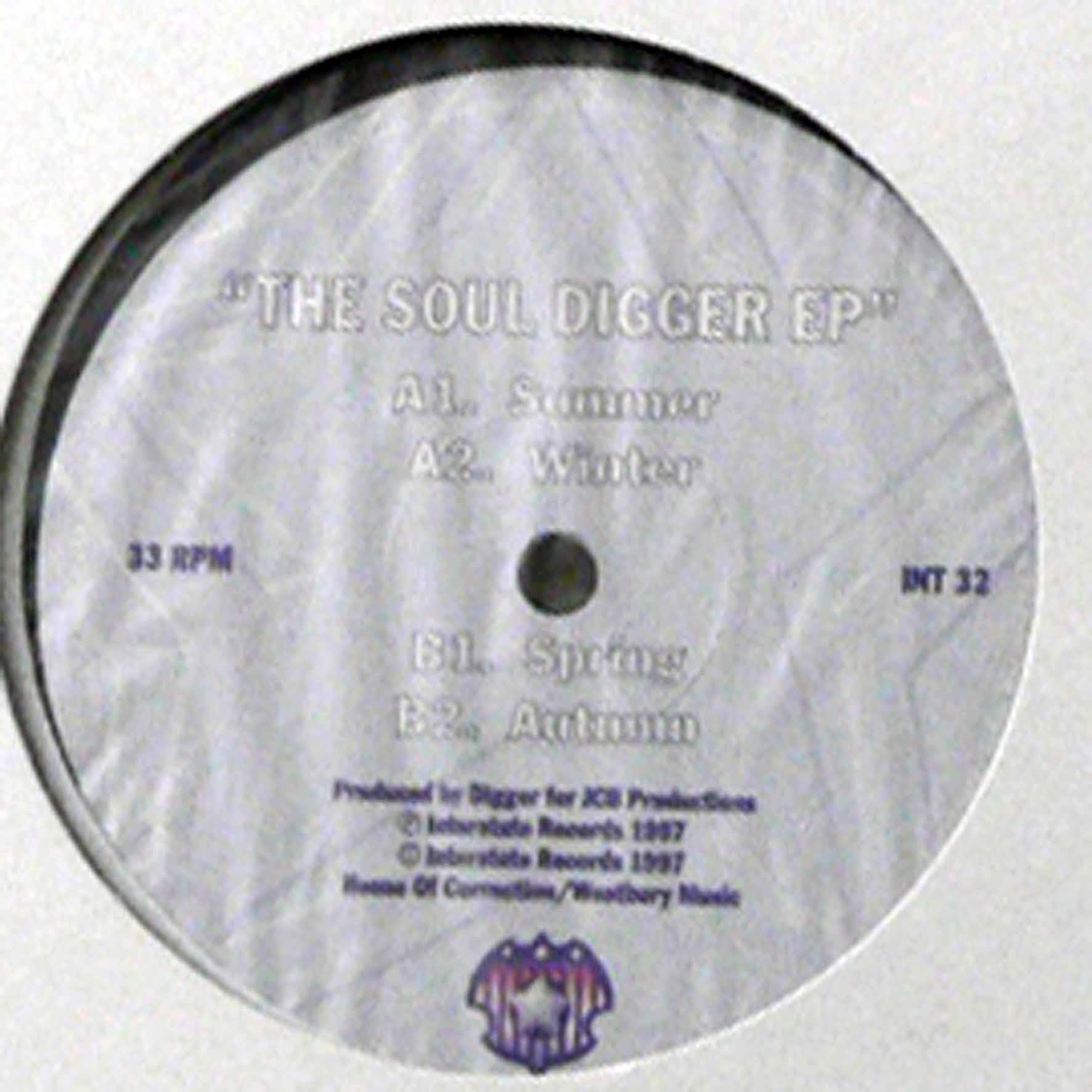 商品詳細 : Digger(12) The Soul Digger EP