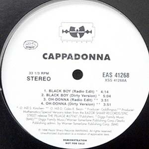 商品詳細 : CAPPADONNNA(12) BLACK BOY